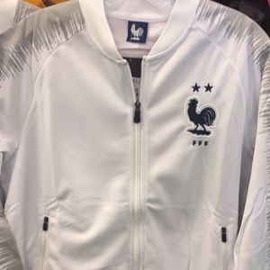 Other - France away 2 star adult track jacket
